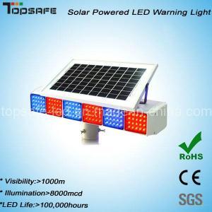 Buy cheap New Design Solar Powered Traffic LED Warning Light product