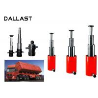 Buy cheap Multi stage Telescopic Hydraulic Cylinder For Press Side Dumper Hydraulic Chrome Cylinder product