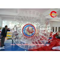 Transparent PVC Inflatable Hamster Ball Rolling For Playing Center