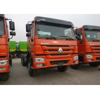 Buy cheap 40T Sinotruk HOWO Heavy Dump Truck Chassis For Loading Construction Material product