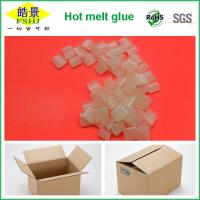 Buy cheap Rubber Hot Melt Glue Packaging Granule ,  Packing Box Adhesive Non Toxic product