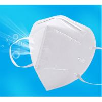 Buy cheap GB2626-2006 Approved KN95 Disposable Folding Non-Valve 5 Layer Auti-dust Non-woven Mask KN95 Protective Mask KN95 Dust product