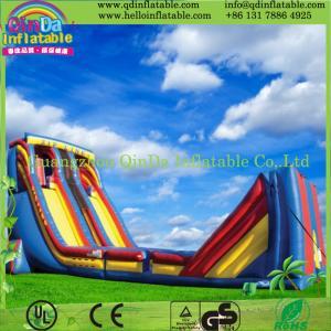 China Inflatable Water Slide Outdoor Backyard Pool Waterslide Swimming Kids Splash Fun on sale