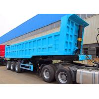 China CIMC 32 CBM bulk heavy duty tipper trailer 3 axle semi trailer tipper on sale on sale