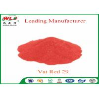 Buy cheap Deep Dyeing Chemical Dyes C I Vat Red 29 Vat Scarlet R Vat Dyes And Pigments product