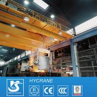 China Steel Plate Lift Equipments Charging Metallurgy Cranes For Sale on sale