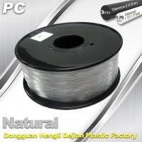 Buy cheap PC Filament 3D Printing Material Strength Resist Ultraviolet Rays product