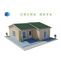 Buy cheap Light Steel Frame Prefab Residential Homes Environmentally Friendly 86.8 M2 Area product