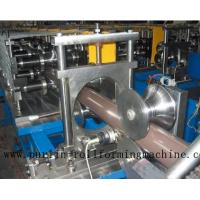 Buy cheap Copper Portable Downspout Roll Forming Machine , Steel Roof Gutter Making Machine product