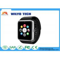 Buy cheap WGT08 GSM NFC Cell Phone Wrist Watch FM Touch Screen Sedentary Reminder product