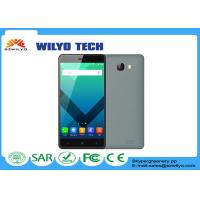Buy cheap Gray OEM fast processor mobile phones Mt6580 Android 3g 5.1 OS 2gb Ram product