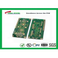Buy cheap Hard Drive Bare Quick Turn Printed Circuit Boards With 2l Fr4 Material 0.8mm Flash Gold 1oz product