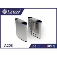 Buy cheap A203 Flap Barrier Turnstile Security Automatic Ticket Checking System product