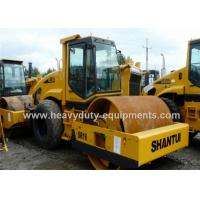 Buy cheap Shantui SR16 single / drum road roller with 112kW rated power and 10000kg Front wheel weight product