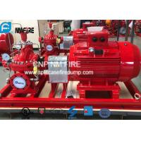 Buy cheap Electric Motor Driven Split Case Fire Pump 500GPM@180PSI For Water Use product