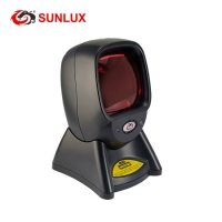 Buy cheap High Precision Long Using Life Black ABS Laser Store Barcode Scanner product