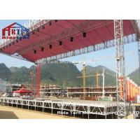 Heavy Tudy Stage Light Truss , Tower Lighting Truss Systems 1-3m  Length
