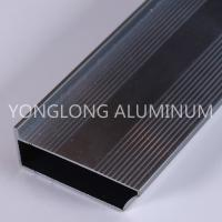 Buy cheap Strong Hardness Aluminium Profile For Glass Doors Rectangle Shape product
