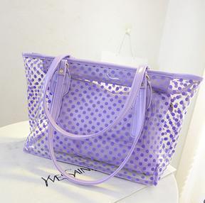 Buy cheap transparent PVC beach bag product