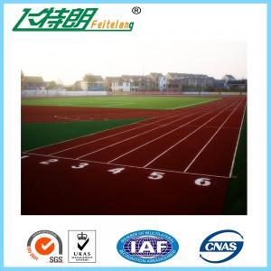 SGS Permeable 13MM Running Track Flooring Sport Stadium Playground Floor
