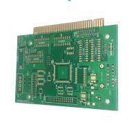 Buy cheap Multilayer Printed Circuit Board HDI Pcb With Gold Finger , Rigid PCB product