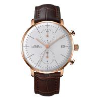 Buy cheap Luxury curve crystal rose gold coating stainless steel back water resistant 30m product