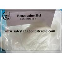Buy cheap Local Anesthetic Drugs Benzocaine Hcl Pain Reliever Benzocaine Hydrochloride CAS 23239-88-5 product