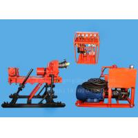 Buy cheap 350m Fully Hydraulic Underground Drill Rigs , Diamond Core Drilling Rig JKD4000S product