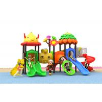 Buy cheap Out Door Sliding Toy Childrens Plastic Playground Entertainment Equipment product