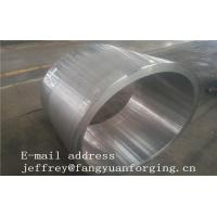 Buy cheap JIS EN ASME ASTM Hydraulic Cylinder Bushing Sleeve Forged C45 4130 4140 42CrMo4 4340 Rough Machined And UT product
