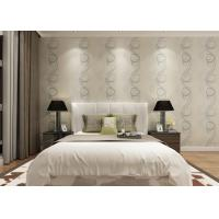 Buy cheap Embossed Asian Inspired Wallpaper , Leaf Pattern Washable Vinyl Wall Coverings product