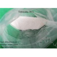 Buy cheap USP Local Anesthetic Agents Tetracaine HCL CAS 136-47-0 for Reliver Pain product
