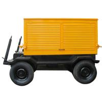 Buy cheap Silent Type Mobile Diesel Generator Trailer Mounted Low Fuel Consumption product