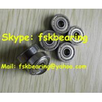 Quality ABEC-5 Small Pin Deep Groove Ball Bearing Chrome Steel Single Row 625 / 626 / 627 for sale