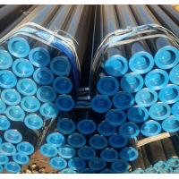 Buy cheap ASTM A106 Gr. B Black Seamless Carbon Steel Pipe Sch40 Sch80 Std For Fluid Transport product