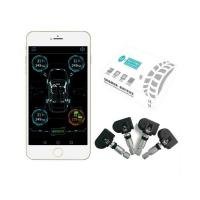 Buy cheap Smart Car TPMS Bluetooth Tyre Tire Pressure Monitoring System APP Display 4 from wholesalers