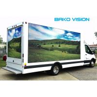 Buy cheap P4.81 P6.67 Mobile LED Screen Led Mobile Advertising Billboard With High Brightness product