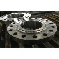 Buy cheap ASME B16.5 WN A350 LF6 Forged Carbon Steel Flange With Nice Packing Or Un-standard Flange product