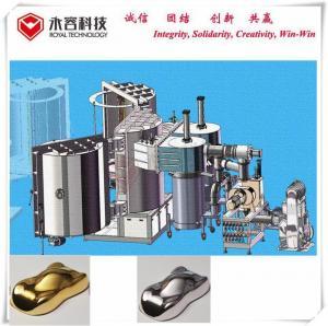 China PVD Hard Chrome  Vacuum Metalizing Machine,  Chrome Plating Mirror Finish, Black Chrome PVD Plating on sale