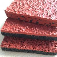 Buy cheap Athletic Jogging Rubber Sports Flooring For Stadium Surface All Weather Fully Cast from wholesalers