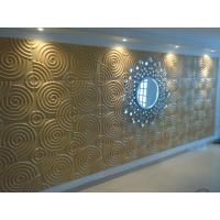 Buy cheap 3dboard wall decor panels625*800 fiber eco wave panels with original colcor product
