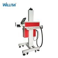 Buy cheap Automatic logo qr code expiry date CO2 laser marking machine metal tube for from wholesalers