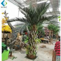 Buy cheap Indoor Landscape Decorative Artificial Phoenix Palm Tree Customized Size Durable product