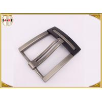 Buy cheap Nickel And Lead Free Silver Plated Double Pin Belt Buckle For Man product