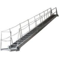 Buy cheap Fixed Inclined Steel  / Aluminum Alloy Marine Boarding Ladder Accommodation Ladder product