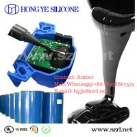 China liquid silicone rubber adhesive for electronic 100:5 condensation RTV silicone on sale