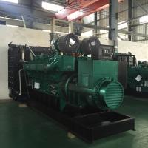 1200KW / 1500KVA 3 Phase Diesel Generator Yuchai Heavy Duty Generator Set