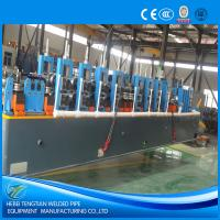 Buy cheap PLC Control HF ERW Steel Pipe Mill Machine Cold Saw With 120m / Min Speed product