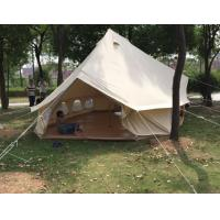 Buy cheap Round Circle Cotton Bell Style Outdoor Canvas Tent For Garden , Prairie , Desert from wholesalers