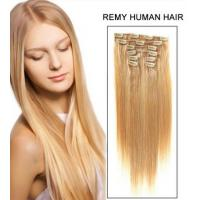 China Beauty Dream Girl Light Brown Hair Extensions Clip In Virgin Hair on sale